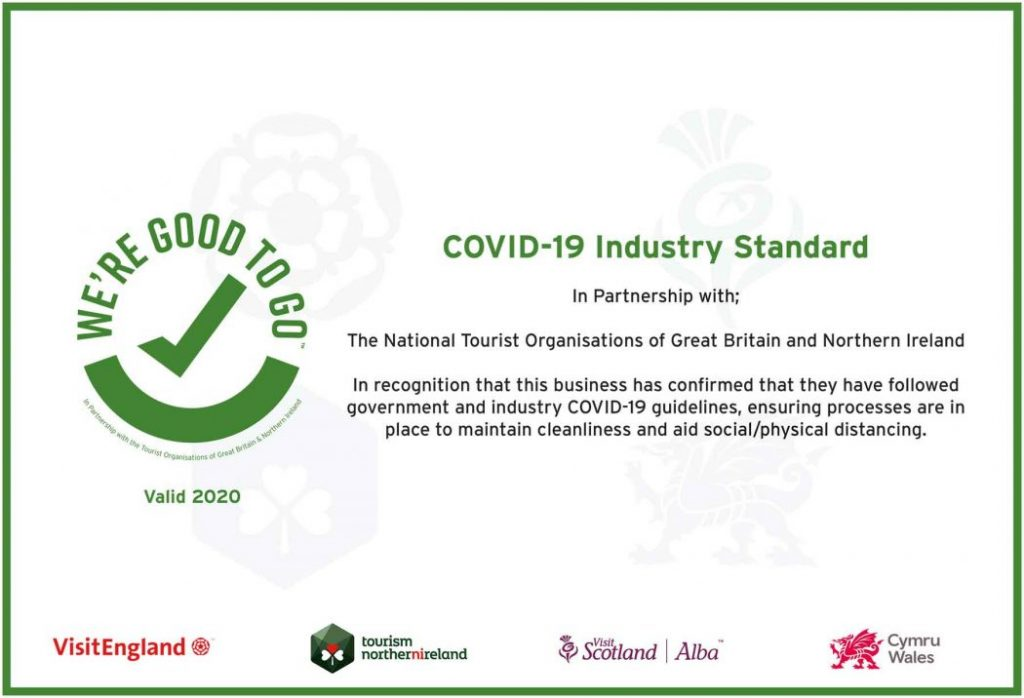 Were Good To Go certificate