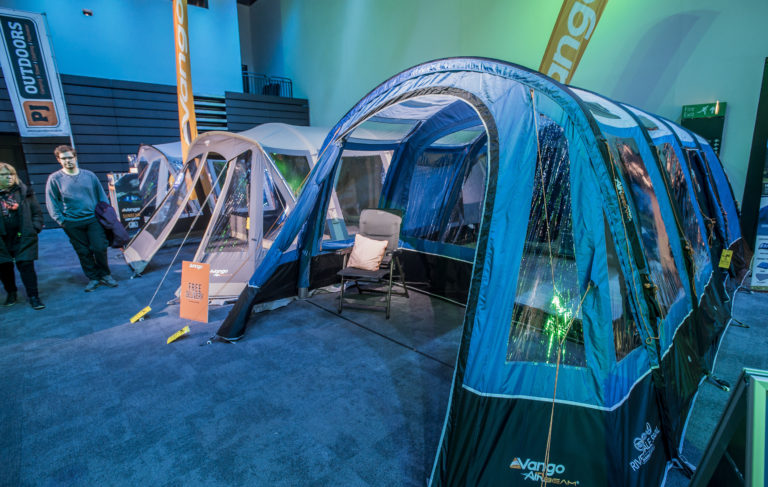 Caravan Show Tent