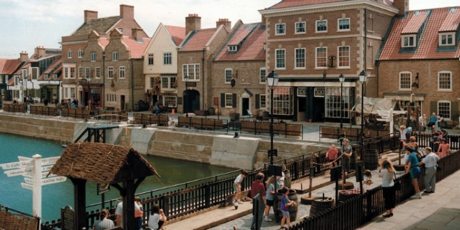 People on the Hartlepool Historic Quay