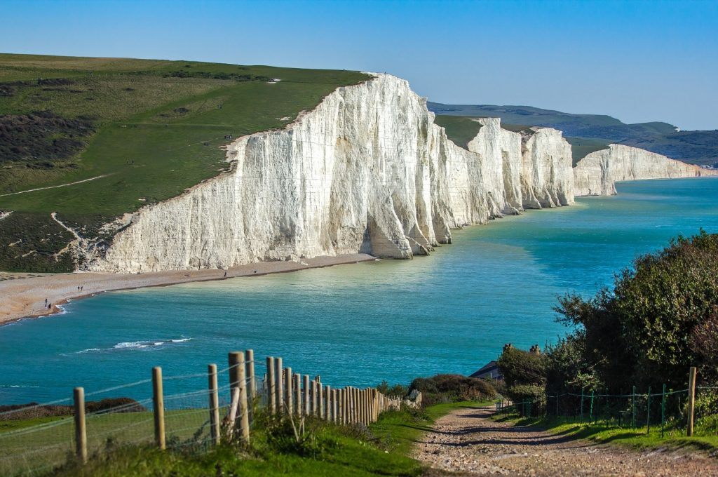 A view of the Seven Sisters cliffs